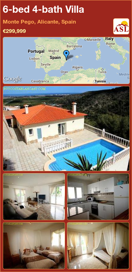 Pego Spain Property For Sale